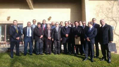 """الدكتور علي مجور رئيس الوزراء الأسبق مؤيد للشرعية ويعقد لقاء مع وزير الخارجية """" المخلافي """" ( صورة - أسماء )"""