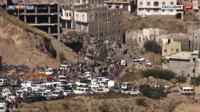 الحوثيون وقوات صالح يغلقون الممر الإنساني الوحيد لمدينة تعز والذي كان قد فتحوه قبل أيام