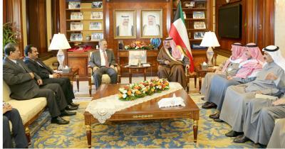 جلسة مباحثات يمنية كويتية برئاسة وزيري خارجية البلدين