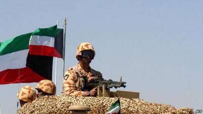 الكويت تتخذ قراراً بإرسال قوات برية للمشاركة في التحالف الذي تقوده السعودية في اليمن