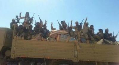 وصول تعزيزات عسكرية وقوات الشرعية تستعد لتحرير آخر مديرية في شبوة