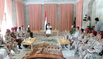 """محمد علي الحوثي يستدعي قيادة وضباط """" الحرس الجمهوري """" ( صورة)"""