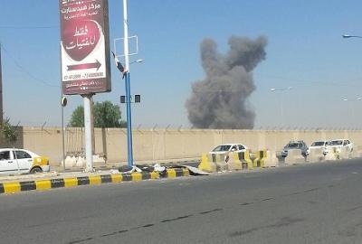 أسماء المواقع التي إستهدفها طيران التحالف بالعاصمة صنعاء منذ منتصف ليلة أمس وحتى ظهر اليوم الأربعاء ( صور)