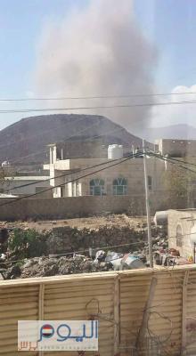 عاجل : أسماء المواقع التي استهدفها طيران التحالف ظهر اليوم في العاصمة صنعاء ( صور)