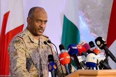 تصريح جديد لناطق التحالف العميد أحمد عسيري حول إستهداف صنعاء بقنابل عنقودية