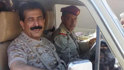 """بالصور .. محافظ الجوف """" العواضي """"  يُحرج وسائل إعلام الحوثي وصالح  ويثبت الإنتصار"""