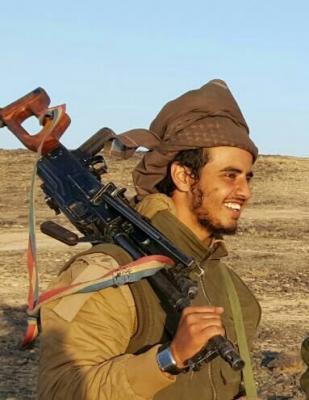 أول موقف ينشر للشيخ محمد العامري بعد نبأ إستشهاد نجله في مواجهات مع الحوثيين