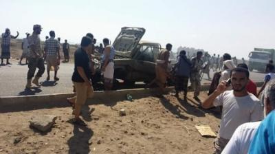 """وفاة مرافق قائد المنطقة العسكرية الرابعة """" الصبيحي """"  بعدن متأثرا بجراح"""