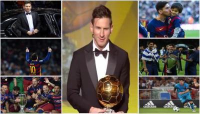 ميسي يفوز بلقب أفضل لاعب في العالم ويحقق إنجاز لم يحققه أي لاعب في تاريخ كرة القدم