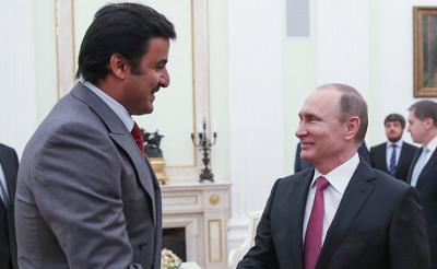 الرئيس الروسي بوتن : قطر دولة مهمة في الشرق الأوسط