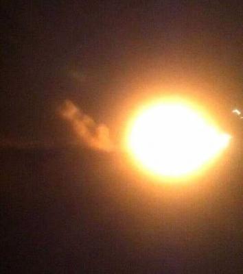 غارات جوية و إنفجارات متتاليه هي الأعنف تهز العاصمة صنعاء ( صورة - المواقع المستهدفة )