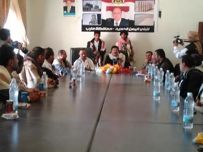 الاعلان عن تأسيس مجلس أعلى للمقاومة الشعبية بمحافظة ذمار برئاسة القوسي ( صورة)