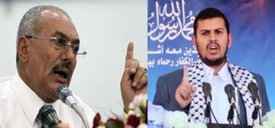 """قيادي حوثي يشن هجوماً على الرئيس السابق """" صالح """" ويصفه بالمتمرد وناكر جميل الحوثيين الذين دافعوا عنه"""