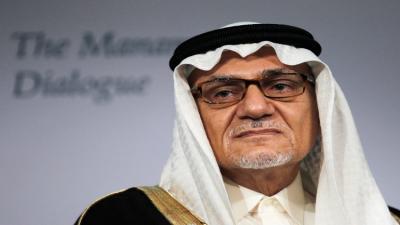 """المدير السابق للمخابرات السعودية """" تركي الفيصل """" يطالب إيران بالإعتذار"""