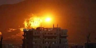 إنفجارات تهز العاصمة صنعاء مصدرها  جبل ومعسكر الحفا  ( صور)