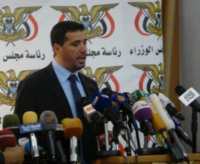 ناطق الحكومة يقول إن الحلول السلمية في اليمن توقفت - تفاصيل