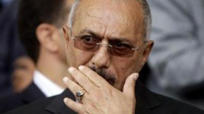 """صحيفة : الرئيس السابق """" صالح """" يوافق على عودة الشرعية إلى صنعاء وسحب قواته العسكرية من تعز .. بشرط"""