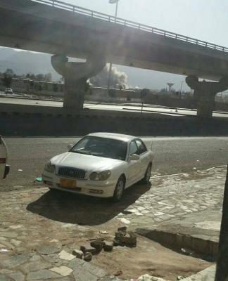 إنفجارات تهز جنوب العاصمة صنعاء ( صوره - المنطقة المستهدفة)