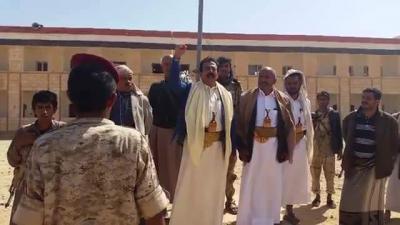 محافظ الجوف يتفقد سير تدريب الوحدات الأمنية تمهيدا لقيامها بمهام حماية مؤسسات الدولة ( صور)