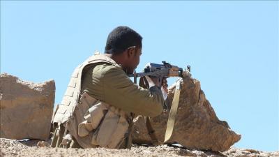 الجيش والمقاومة يحكمون سيطرتهم على موقع إستراتيجي بفرضة نهم  شرق صنعاء