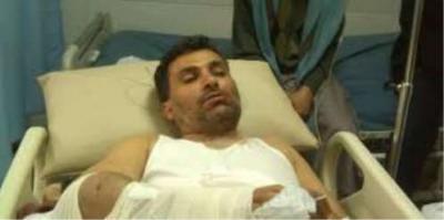 الصحفي نائف حسان يكشف عن الجهة التي إعتدت عليه بالضرب وسط العاصمة صنعاء