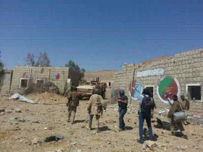 الشرعية تكسر حاجز الطوق حول صنعاء ووجهاء من قبائل بني حشيش وأرحب يطمأنون الشرعية
