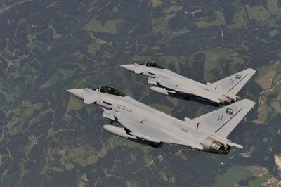 وصول طائرات حربية سعودية إلى تركيا