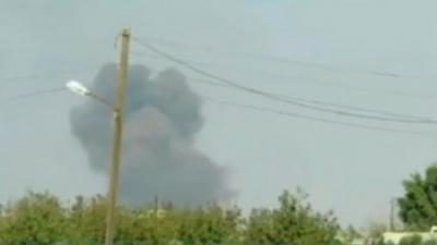 تركيا تقصف لأول مره مواقع للأكراد والجيش السوري شمال سوريا