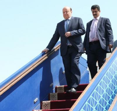 الرئيس هادي يعود إلى الرياض