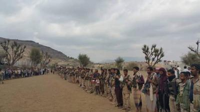 بالصور .. الشيخ حمود المخلافي يستقبل قوات جديدة من المهام الخاصة بتعز