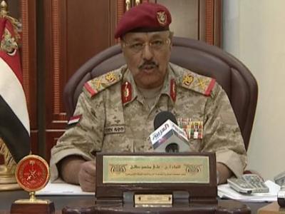 اللواء علي محسن الأحمر يعود للواجهة ويتربع على قيادة  القوات المسلحة والأمن ( نص القرار الجمهوري)