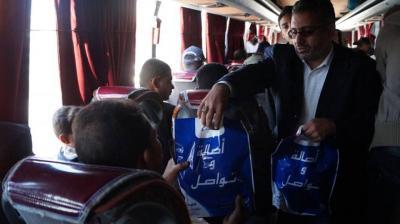 """المستفيدون من خدمة """"وصلني معك"""" : وفرتم علينا الكثير.. سبأفون تواصل تسيير رحلات مجانية يومية من صنعاء إلى عدن وتعز والحديدة"""