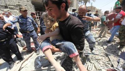 70 قتيلا بتفجيرات مدينة الصدر في العراق