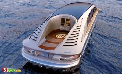 شاهد بالصور .. سيارة برمائية فاخره  للبيع بـ 15 مليون درهم إماراتي
