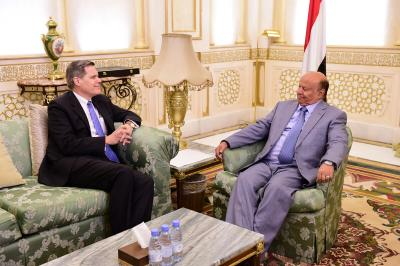 الرئيس هادي  : الشعب اليمني اليوم يستعيد وجوده بعد حرب التهجير والتدمير