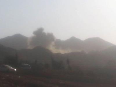 إنفجارات تهز شمال العاصمة صنعاء ( صورة - المنطقة المستهدفة )