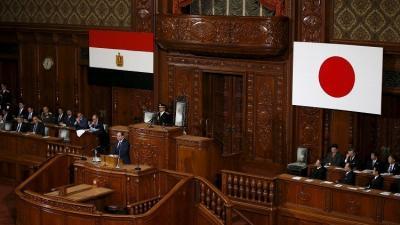 شاهد بالفيديو..الموقف المُحرج الذي تعرض له الرئيس المصري السيسي  باليابان