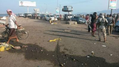 تفاصيل حادثة إغتيال مسؤول أمني بمدينة عدن ومرافقه قبل قليل ( صورة)