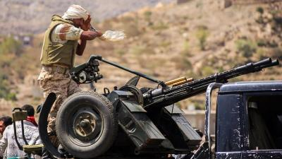 الجيش والمقاومة يسيطرون على مواقع جديدة في تعز
