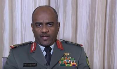 تصريح لناطق التحالف العميد أحمد عسيري حول مستجدات الأوضاع في الحدود اليمنية السعودية