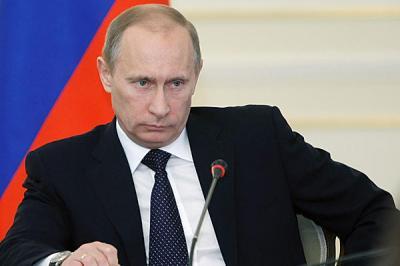"""الرئيس الروسي """" بوتين """" في أول رداً له يكشف سبب سحب قواته من سوريا"""