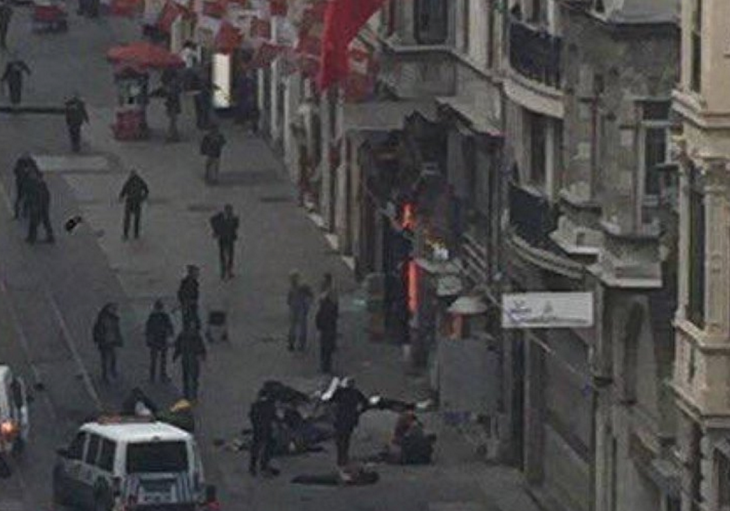 قتلى وجرحى في تفجير إنتحاري بمدينة إسطنبول التركية