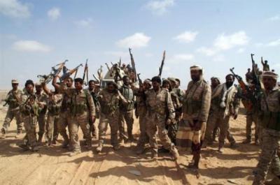 وحدات الجيش  بمأرب تقترب من الإلتحام بالوحدات الأخرى في جبهة شبوة بعد السيطرة على حريب ودخول بيحان بشبوه
