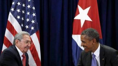 أوباما يصل إلى كوبا في زيارة تاريخية هي الأولى لرئيس أميركي منذ 88 عاما