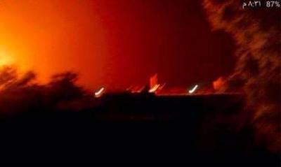 تفاصيل الإنفجارات التي هزت مدينة عدن مساء اليوم واستهدفت مقر التحالف وخلفت عشرات القتلى والجرحى ( صورة أوليه)
