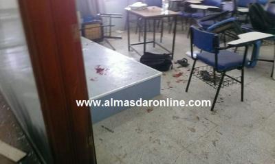 تفاصيل الإنفجار الذي هز جامعة العلوم والتكنلوجيا بالعاصمة صنعاء