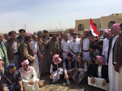 شاهد صور -  للأسرى الحوثيين والسعوديين الذين تم تسليمهم في صفة تبادل الأسرى يوم أمس