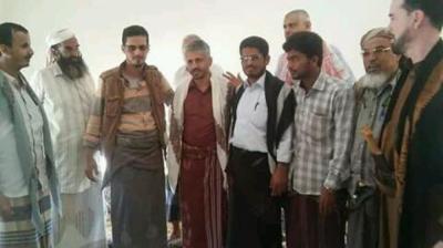 قائد المقاومة بتعز يصل محافظة مأرب بعد زيارته لمحافظة شبوة ( صور)