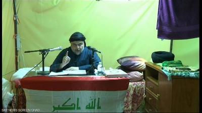 """الصدر يطالب أنصاره بإنهاء """"اعتصام بغداد"""""""