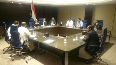 """رئيس الوزراء  """" بن دغر """"  يعقد إجتماعاً بشأن عدن ( صوره)"""